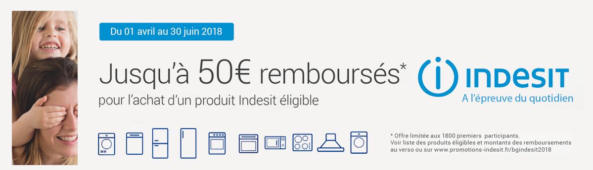Offre de remboursement - Electroménager Auvergne
